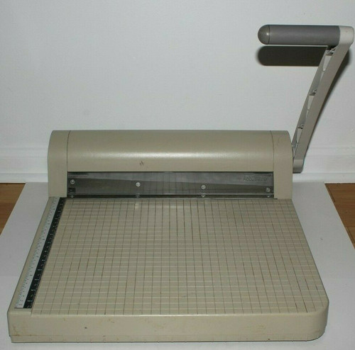 "QUARTET ACCUSAFE Paper Cutter Trimmer 15"" - Used"