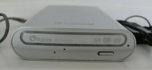 Plextor PX-716UF External USB Firewire DVD Writer Burner - Used
