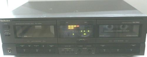 TECHNICS RS-TR265 HX PRO Dual Auto Reverse Cassette Deck Tape Recorder- Used