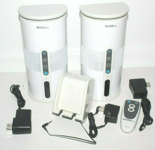 Audio Unlimited Wireless Speaker Set w/ Remote- Used