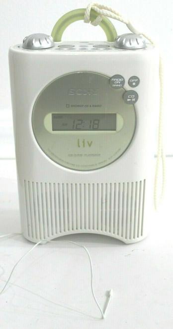 SONY ICF-CD73V Shower Weather/AM/FM/CD Portable Radio - Used