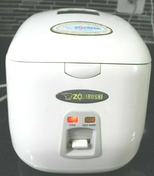 Zojirushi NS-PC18 Electric 10-Cup Uncooked Rice Cooker & Warmer 1.8 - Used