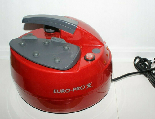 Euro-Pro X Steam Generator Iron EP965 Steam Cleaner w/ Attachments - Used