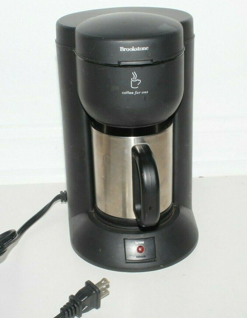 Brookstone C50 Coffee  Maker Single Serve - Used  0539