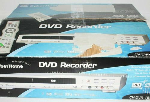 Cyberhome CH-DVR 1500 DVD Recorder - Open Box   01439
