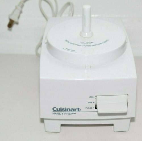 Cuisinart Little Pro Handy Prep Food Processor  Motor Base Only - Used   01349