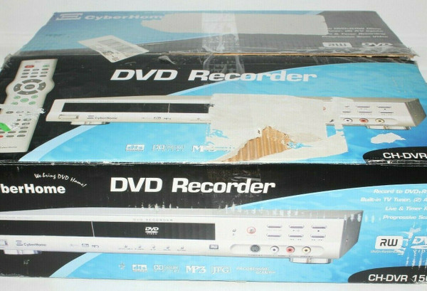 Cyberhome CH-DVR 1500 DVD Recorder - Open Box   01439