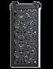 metal diamond pane french barn door