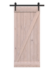 unfinished wood classic z barn door