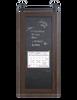 wood and magnetic chalkboard barn door