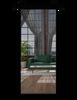 The Fillmore Metal Frame Mirror Sliding Barn Door