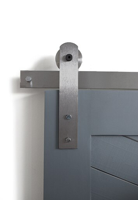 Front Strap Barn Door Hardware