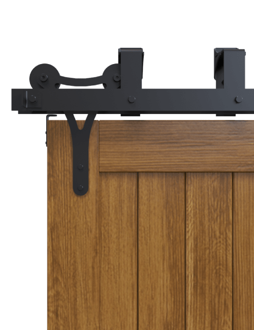 y style strap bypass barn door hardware
