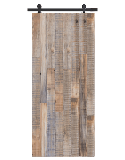jefferson reclaimed wood sliding barn door