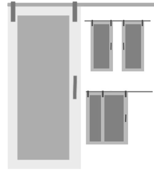 Fully Custom Sliding Barn Door