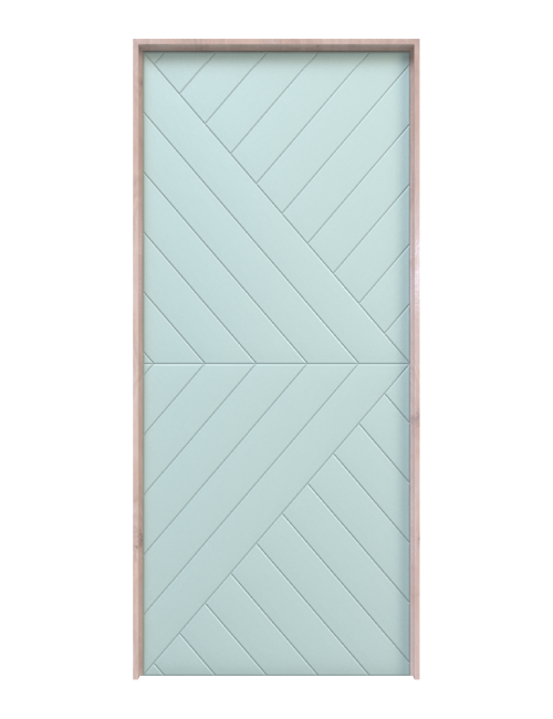 Modern Arrow Interior Door
