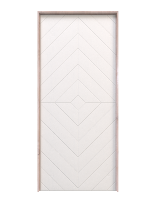 Modern Diamond Interior Door