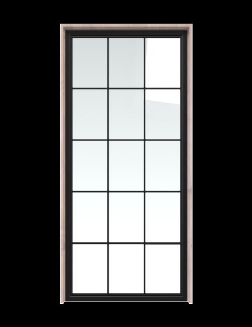 Window Pane French Interior Door