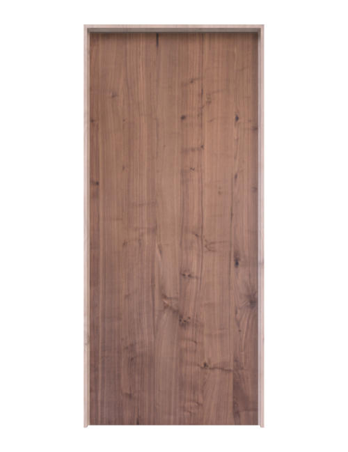 Walnut Slab Interior Door