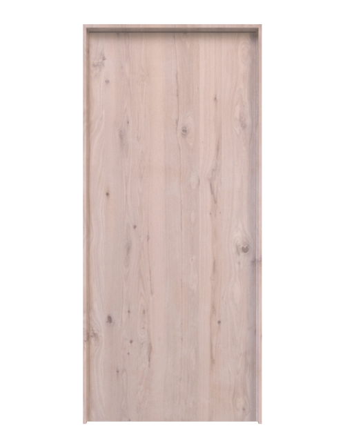 Oak Slab Interior Door