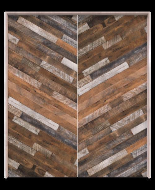 lincoln reclaimed wood diagonal barn door