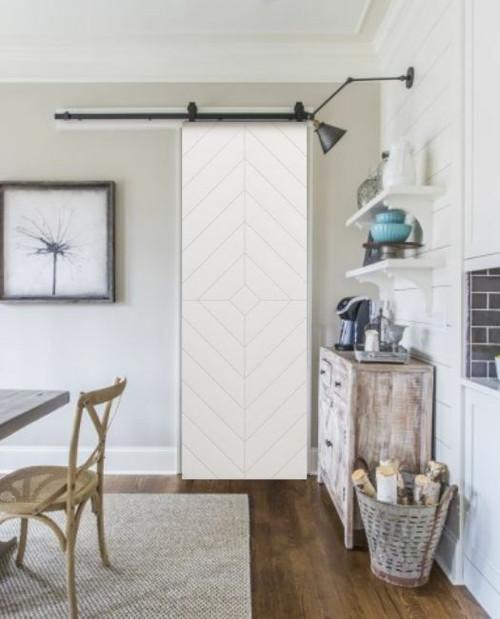 32 Inch Modern Sliding Barn Door
