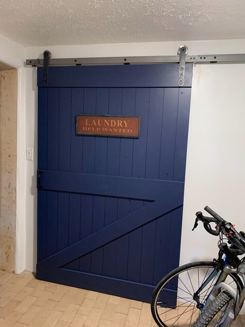 Laundry Room Barn Door - Classic