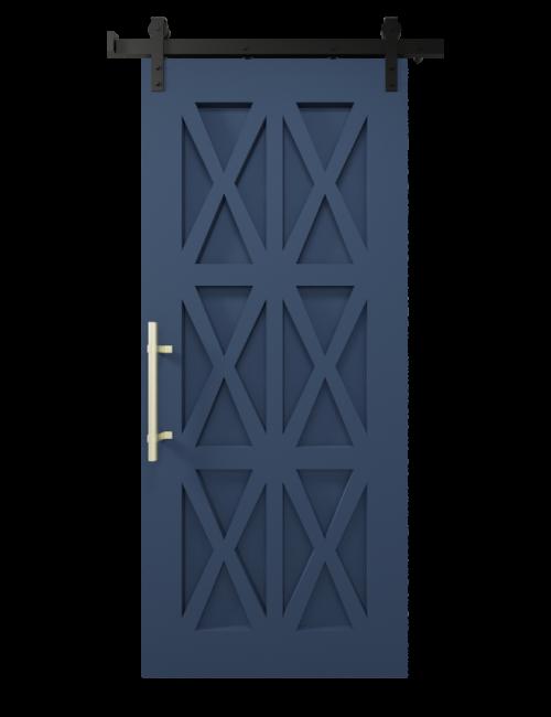 The Harper Custom Wood Six X Barn Door - SW9176