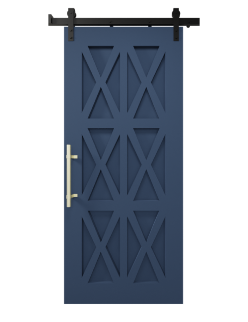 The Harper Custom Wood Six X Barn Door - SW9176