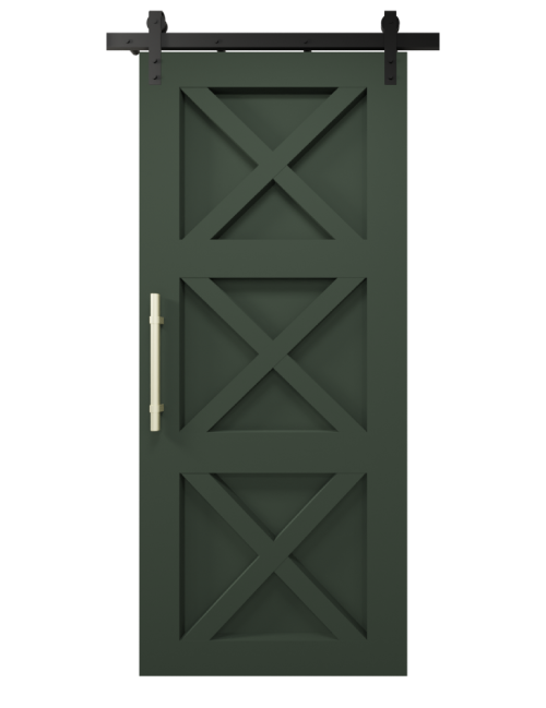 the ava custom sliding barn door olympic range