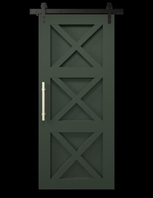 the ava custom sliding barn door olympic range