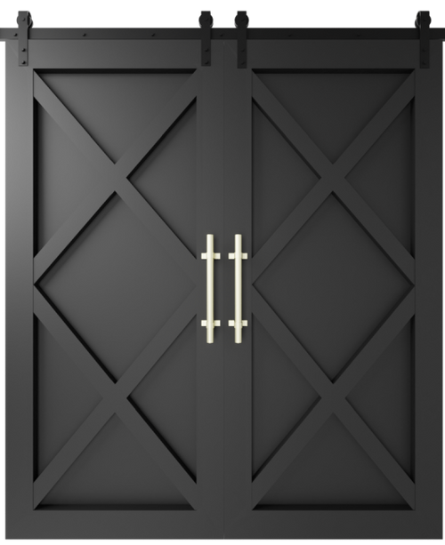 The Xavier Custom Double Sliding Barn Door