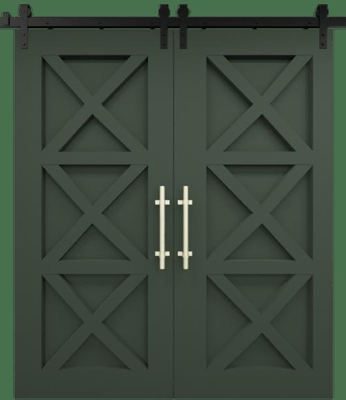 The Ava Custom Double Sliding Barn Door