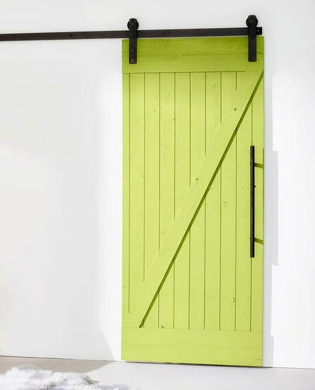 painted wood classic z barn door