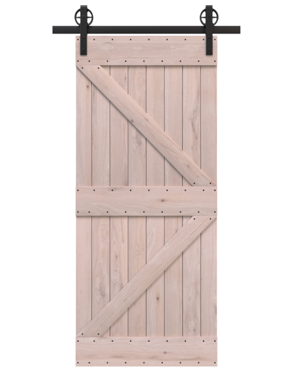 knoxville unfinished wood stable style barn door