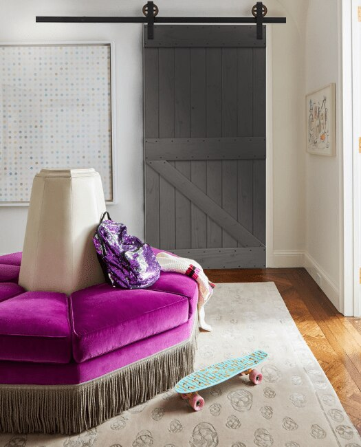 Bristole Sliding Barn Door Lifestyle Bedroom