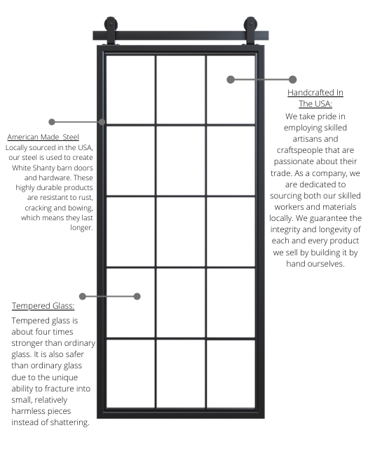the benefits of white shanty's french style doors