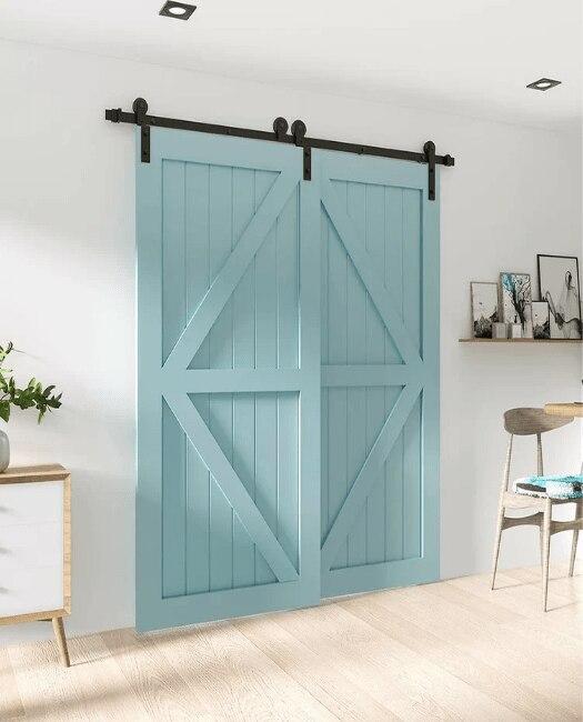 The Sonoma Bypass Sliding Barn Door - Lifestyle Livingroom