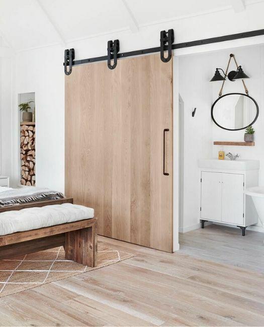 Wood Slab Barn Door