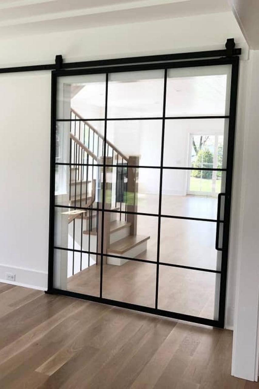 metal super wide Fully Custom living room Sliding Barn Door