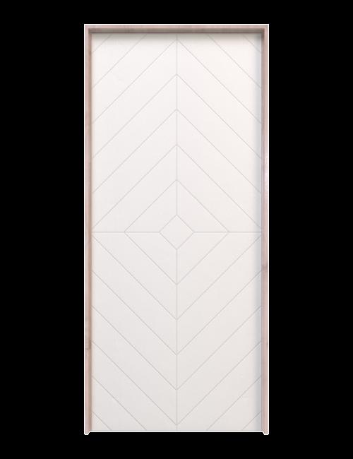 Modern Diamond Interior Door
