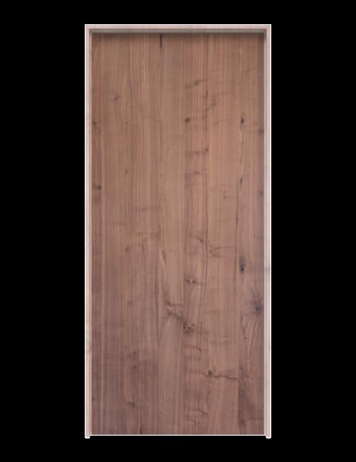 Walnut Slab Interior Door