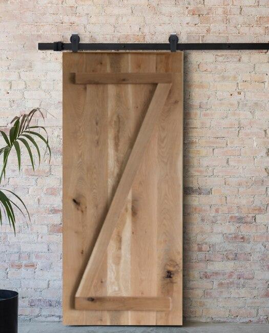 8 Ft Oak Barn Door