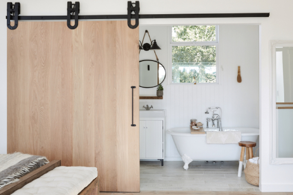Sliding Bathroom Barn Doors