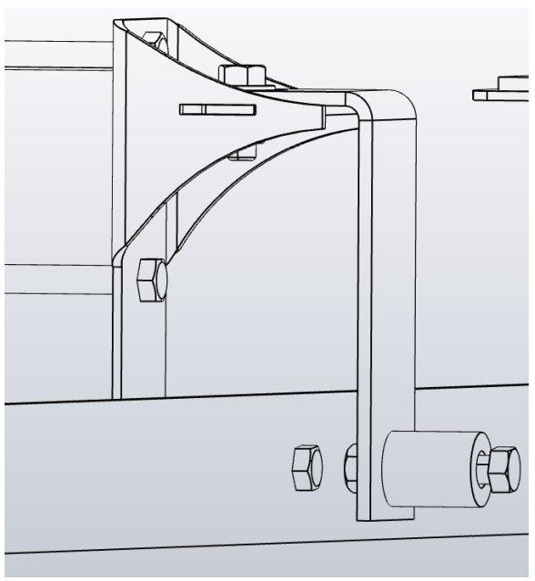 sliding bypass barn door track mounting