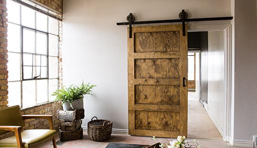 Panel Sliding Barn Doors