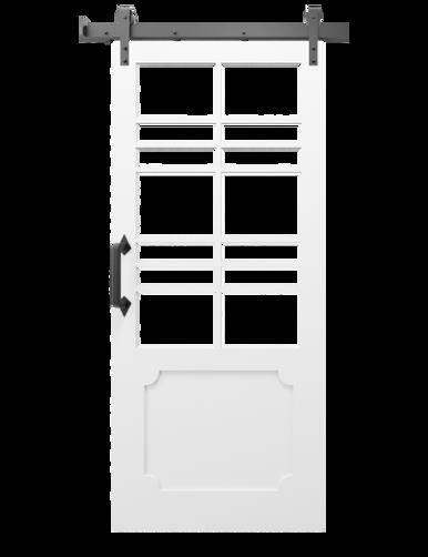 White Sliding Barn Doors
