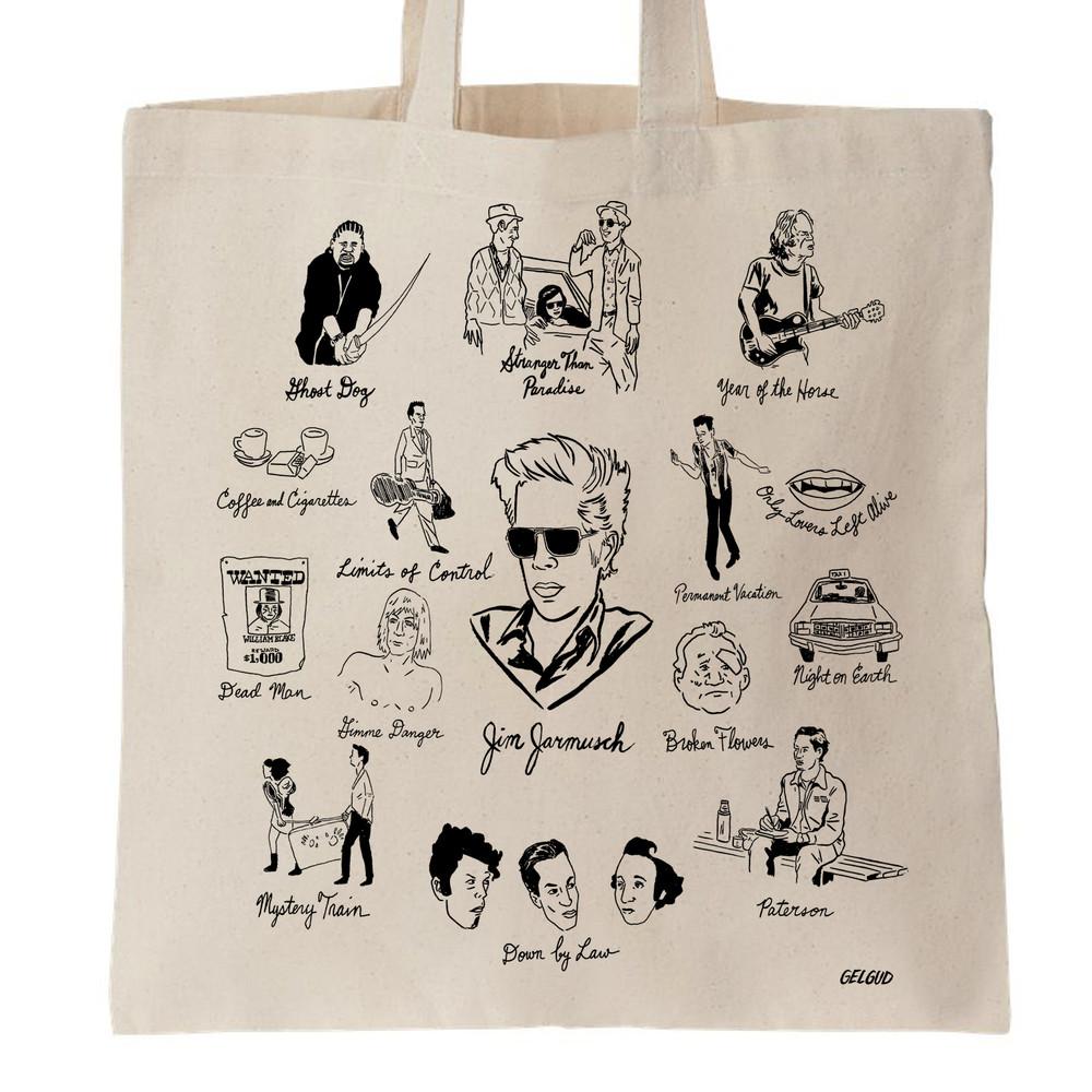 Jim Jarmusch Tote Bag