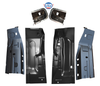 1994-2002 Dodge Ram Pickup Front Outer And Inner Front Floor Pans with Cab Mounts