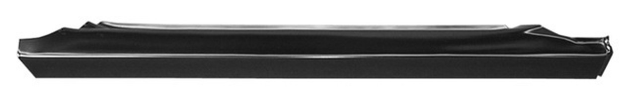 Rh - 1988-1998 Chevy & Gmc Fullsize Truck Slip Over Rocker Panel